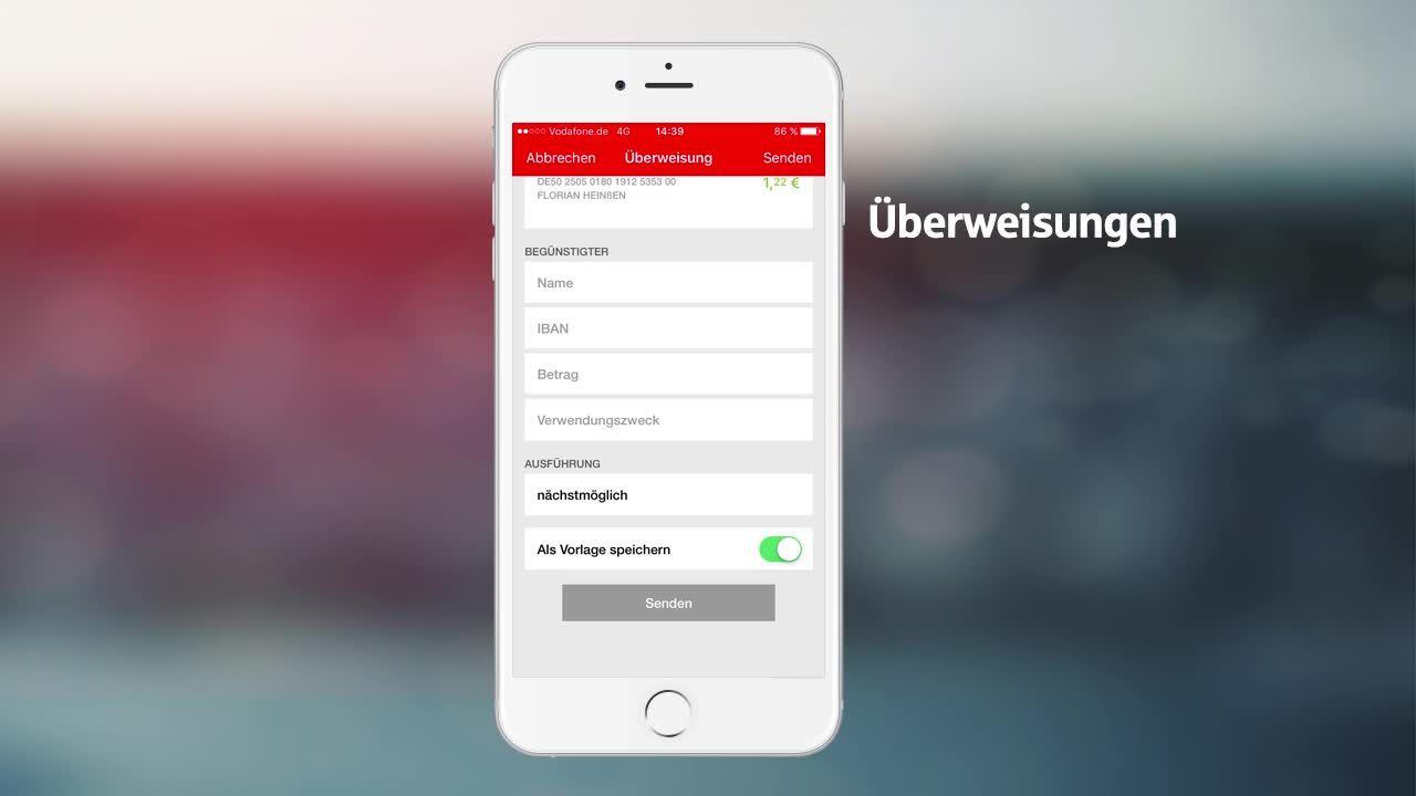 Konto einrichten in der S App   Anleitung   Sparkasse.de
