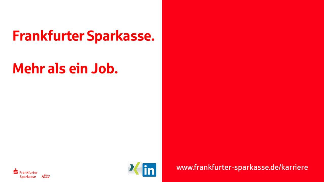 Frankfurter Sparkasse Ist Ausgezeichneter Arbeitgeber